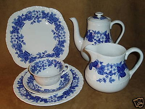 Kaffeeservice Bramble of Etruria Wedgwood Barlaston