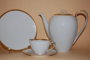 Kaffeeservice Teeservice Carolus Magnus Gold Goldrand Hutschenreuther