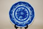 Speiseteller 25,5cm Maria Theresia Windsor blau Fahne  Hutschenreuther