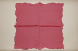 Serviette Stoffserviette rosa altrosa Maria Theresia Hutschenreuther NEU