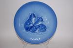 Sammelteller Jahresteller  blau Achtziger 1978 78 Hutschenreuther HONEU15