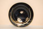 Konfektteller 13 cm Scala Caprice schwarz gold Hutschenreuther