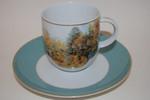 Kaffeetasse 2-tlg. ars mundi Claude Monet  Königlich Tettau