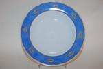 Suppenteller 21,8 cm Sandy blau gelb Blätter Flirt Ritzenhoff & Breker