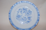 6 Kuchenteller 19 cm China blau Dorothea Seltmann Weiden