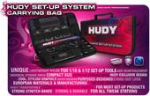 Hudy / 199220 - HUDY - Transport Tasche für Exclusiv Setup System für 1/10 Tourenwagen / NUR DIE LEERE TASCHE