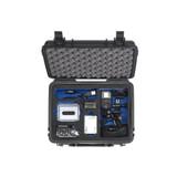 B&W International GoPro Hardcase / Transportbox für GoPro oder ähnliche Actioncameras / OHNE TECHNISCHEN INHALT! / Outer Dimensions - 272mm x 215mm x 106mm