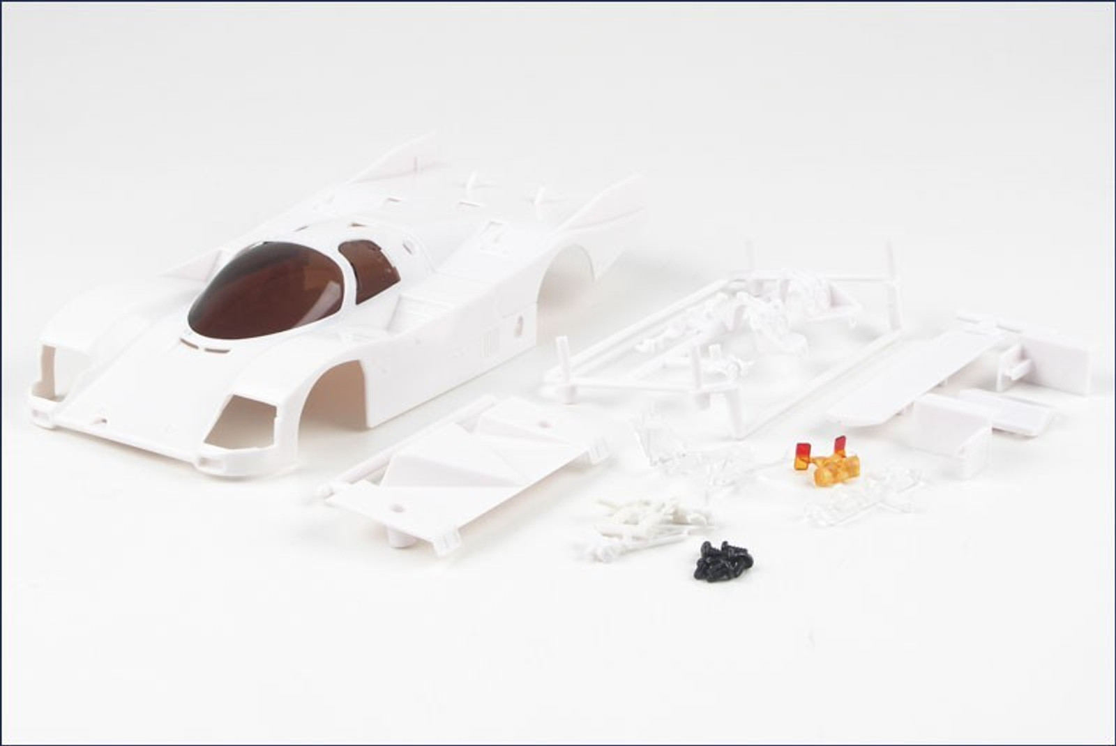 mini z kyosho white body kit karosserie 1 24 porsche. Black Bedroom Furniture Sets. Home Design Ideas