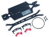 ATOMIC / für AMZ4WD / AMZ 98 mm Carbon Chassis Set