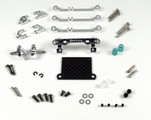 MR3070S / PN Racing Mini-Z V3 MR03/PNR2.5W Double A-Arm Front Suspension (silber)
