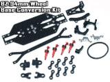 BZ-CB002-94 / ATOMIC / für BZ / TuneUP / BZ-CB002-94 / BZ 94mm Wheel Base Conversion Kit