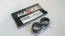 Marka / V1 / REAR / Mini-Z RCP Rubber Rear Tire 10° (1 Pair) / Product made of 100% rubber, no silicone 002