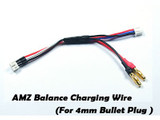 ATOMIC AMZ Balance Charging Wire for AMZ series [For 4mm Bullet Plug]