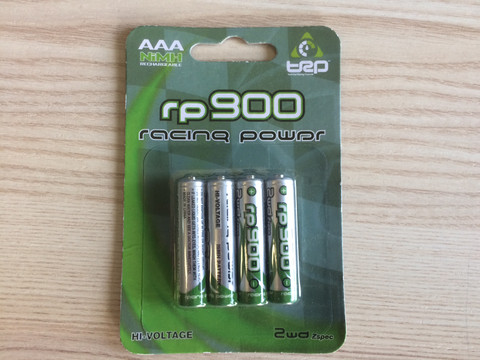 AAA / 1,20V / 900mA / Akku NiMh / 4St. / Racing Power by TRP
