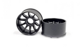 RWD R10 Machine Cutted Carbon Rim - Narrow +3