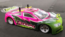 PN Racing Mini-Z Jomurema  JGT1 Racing Lexan Body Kit 98mm