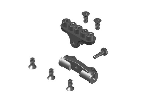 JR128-R01 Rear Center Suspension Set- JOMUREMA SPARE PART