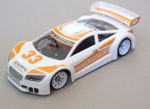 JR-GT01 Car Body Set-White- JOMUREMA SPARE PART 002