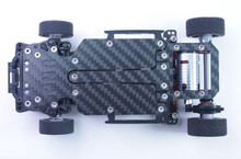 PN Racing 2.0mm Graphite Main Chassis for Jomurema GT01 002