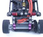 PN Racing 1.0mm Graphite Motor Mount Upper Plate for Jomurema GT01