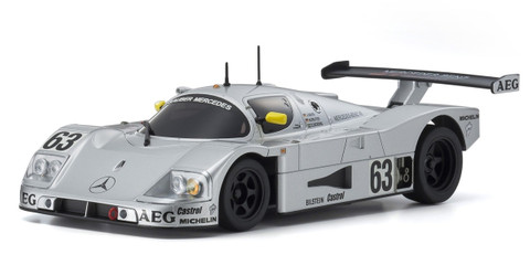 Mini-Z SAUBER MERCEDES C9 No.63 1989 (W-LM) 102mm
