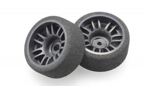 X-Power / FOAM / SOFT/ Offset +3 / rear - hinten - breit /  Moosgummireifen mit Kunststofffelge