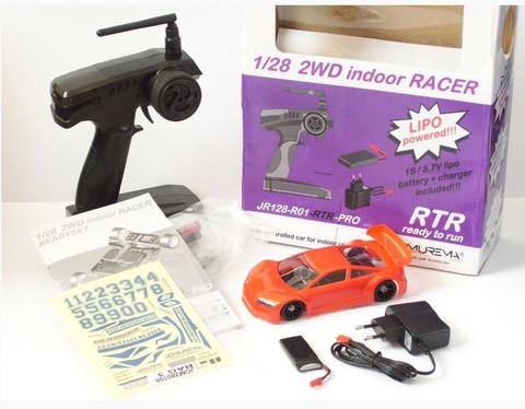 JR128-R01 2WD RTR-PRO-RC-Car-Set / GT01-red- JOMUREMA RTR - PRO - CAR - SET