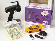 JR128-R01 2WD RTR-PRO-RC-Car-Set / GT01-orange- JOMUREMA RTR - PRO - CAR - SET 001