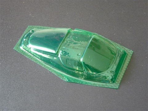 SRCC / Mini-Z Lexan Super Light Weight Window / Ferrari FXX / Lexan 0.20 / transparent grün