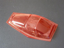 SRCC / Mini-Z Lexan Super Light Weight Window / Ferrari FXX / Lexan 0.20 / transparent rot 001