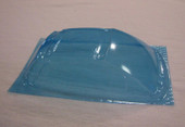 SC-FIAT 0,2 bl / SRCC / Mini-Z Lexan Super Light Weight Window / FIAT 500 / 695 Abarth / Lexan 0.20 / transparent blau