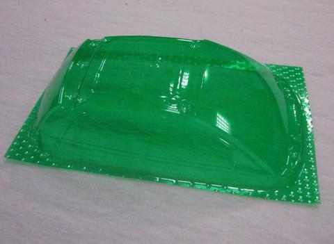 SRCC / Mini-Z Lexan Super Light Weight Window / FIAT 500 / 695 Abarth / Lexan 0.20 / transparent grün