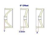 ATM / AWD Mini-Z / AWD Disk Rim N (0*)-White / 1Paar! / ABS Kunststoff