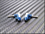 PN Racing Mini-Z F1 Delrin Knuckle 0 Degree Camber (BLUE - BLAU)
