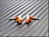 PN Racing Mini-Z F1 Delrin Knuckle 0 Degree Camber (ORANGE)