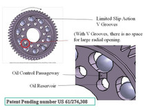 PN Racing / 64 Pitch Machine Cut Delrin / Limited Slip Spur Gear / 92T / For RC Car Pan 1/12, World GT 1/10 and F1 1/10