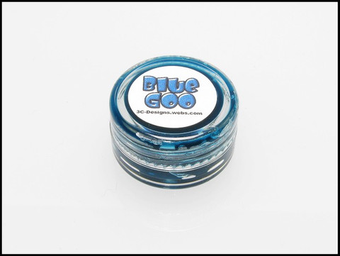 DG Designs Blue Goo Dampener Grease / BLAU / 9 Gramm / JADE JIZZ
