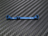 PN / MR03 / PN Racing Mini-Z MR03 Double A-Arm +1.5 Deg Tie Rod (Blue - blau)