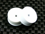 ATM / AWD Mini-Z / AWD Disk Rims REAR (+1.5*) - White / 1Paar! / ABS Kunststoff