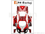 Aufkleber Set (Skin) / PN Racing Mini-Z Body Skin Lexus SC430 Type 6