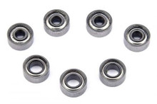 PN / Kugellager Set / 7 Lager! komplett / PN Racing Mini-Z 2WD Shield Hub Dry Ball Bearing Set (7pcs) 600129 600120 001
