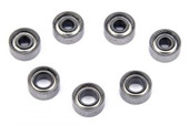 PN / Kugellager Set / 7 Lager! komplett / PN Racing Mini-Z 2WD Shield Hub Dry Ball Bearing Set (7pcs) 600129 600120