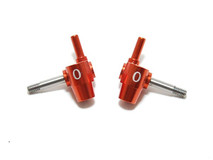 PN Front Knuckle / 0Deg / MR-02/015 /  Achsschenkel / ORANGE 001