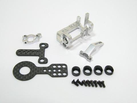 PN Alu-Motorhalter / 90-94mm MM / silber - MR9094S