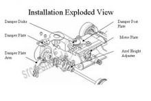 PN Alu-Motorhalter / 90-94mm  / Silber - MR9094S