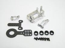 PN Alu-Motorhalter / 90-94mm MM / silber - MR9094S 001