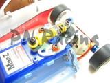 PN Reibungsdämpfer SET / GRAPHITE  / 94mm-98mm / blau - MR2061B