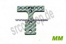 PN T-BAR MM Silber Carbon #4 / MR03 / T-Plate - MR3002S