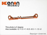 PN MR03 Alu Lenkstange / W -2.0 / Toe Out Tie Rod / orange