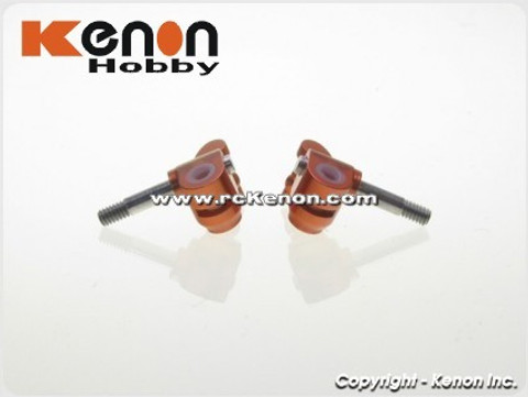 PN / MR-03 / Front Low Down Knuckle / ALU / orange / Achsschenkel